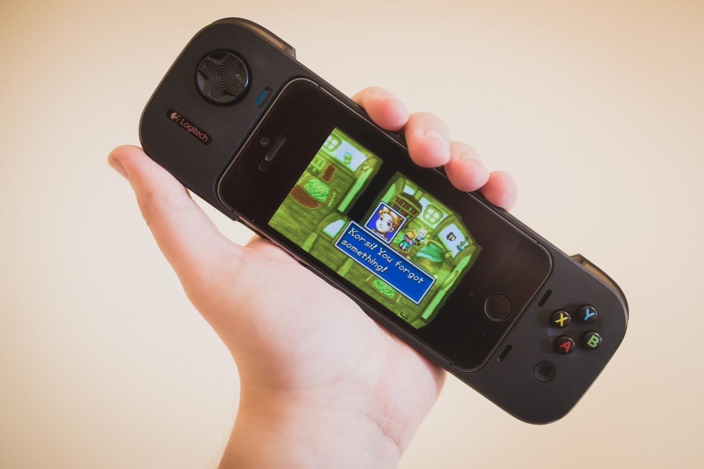 Logitech Game Controller for iOS7