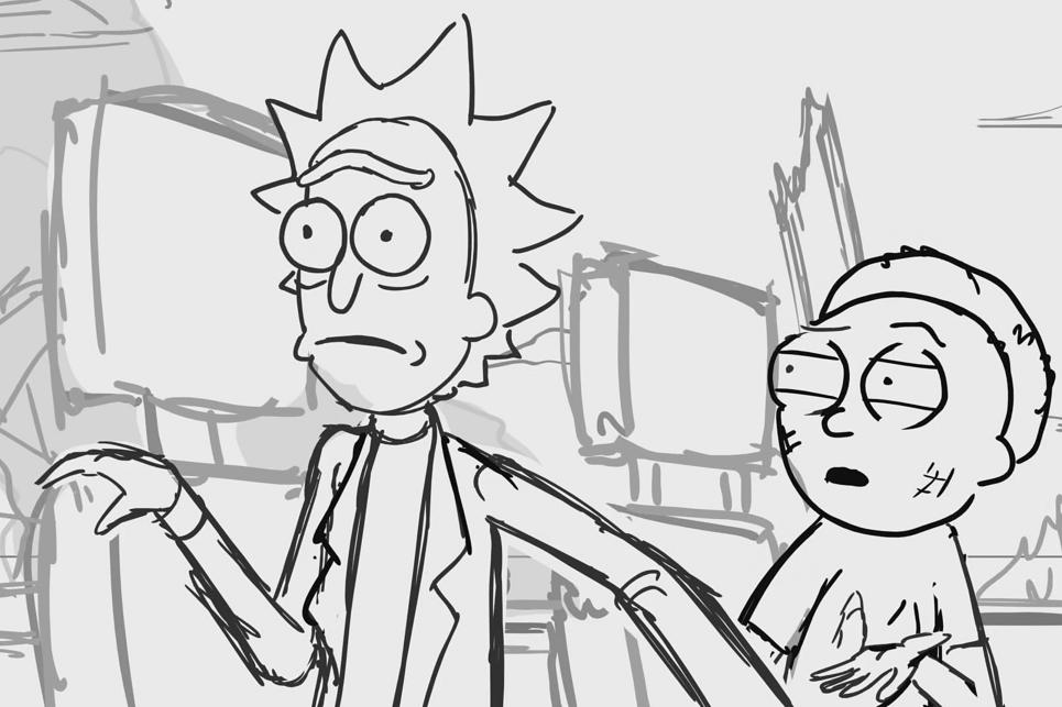 Egy félkész epizódmorzsa a Rick and Morty 5. évadjából